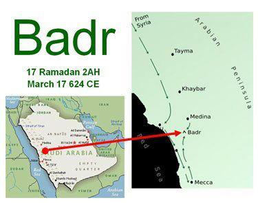 The Battle of Badr ....17th of Ramadan