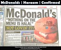 McDonalds Haraam Confirmed