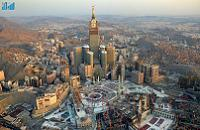 Blessed Ka'aba Dwarfed by massive hotels and copies of America-style structures