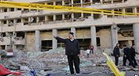 blast site Egyptian police headquarters downtown Cairo Egypt Friday Jan 24 2014