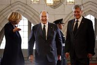 Agha Khan with Prime Minister Stephen Harper