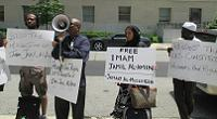 Rally for Imam Jamil at the Bureau of Prisons