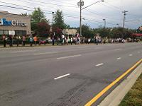 Greensboro NC protest against Israel
