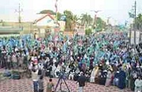 Karachi Women Supporting Jamaate Islami